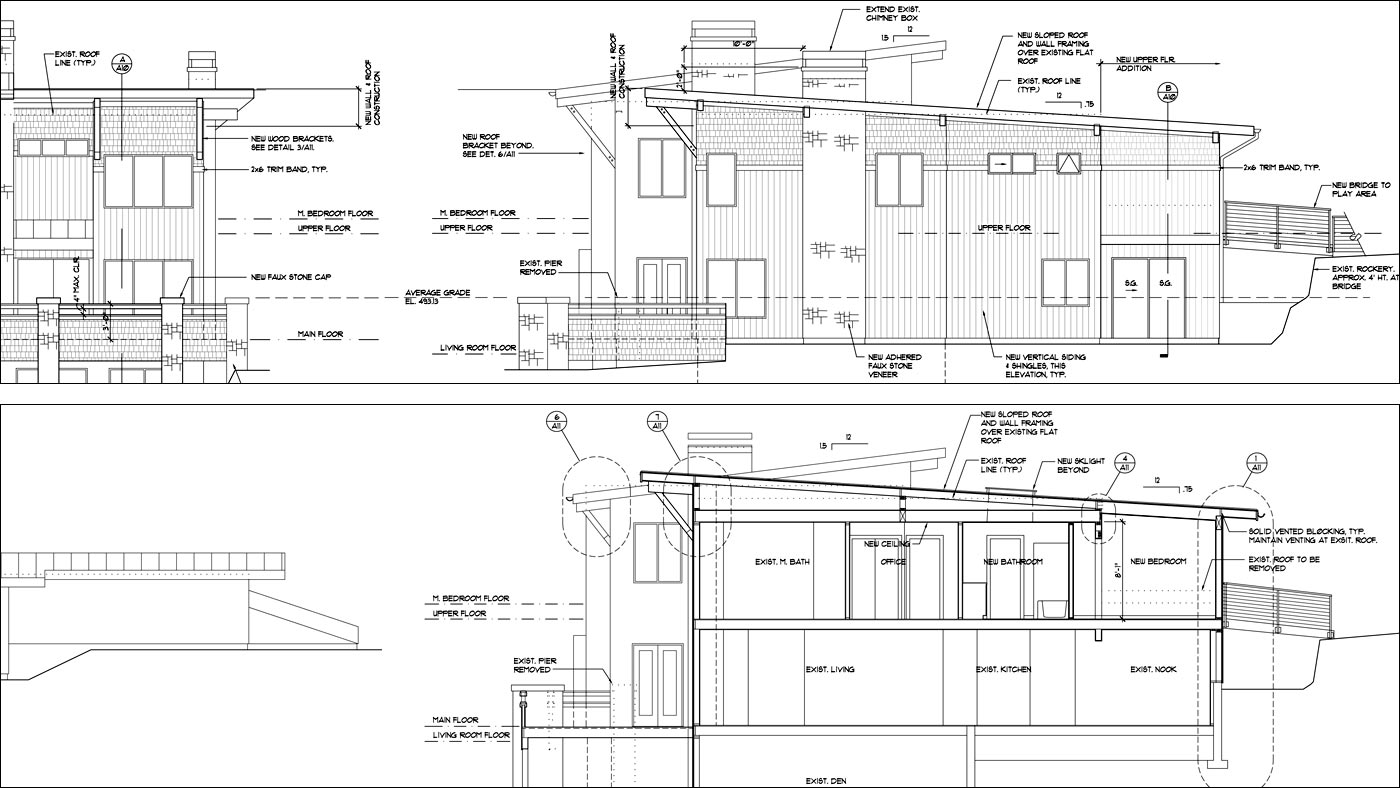 technical-drawing-modern-home-elevation-section